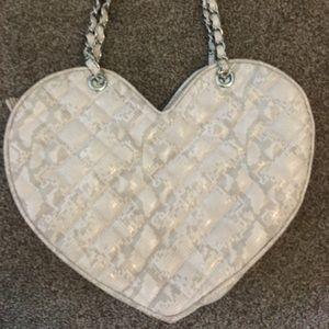 BEBE heart purse